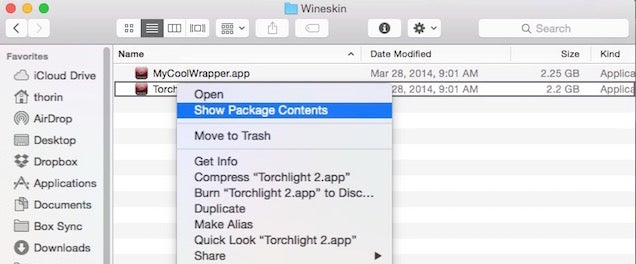 How to Run Your Favourite Windows Programs on OS X with Wineskin