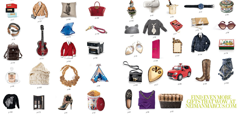 11 Ludicrous Gifts from Neiman's Holiday Catalogue