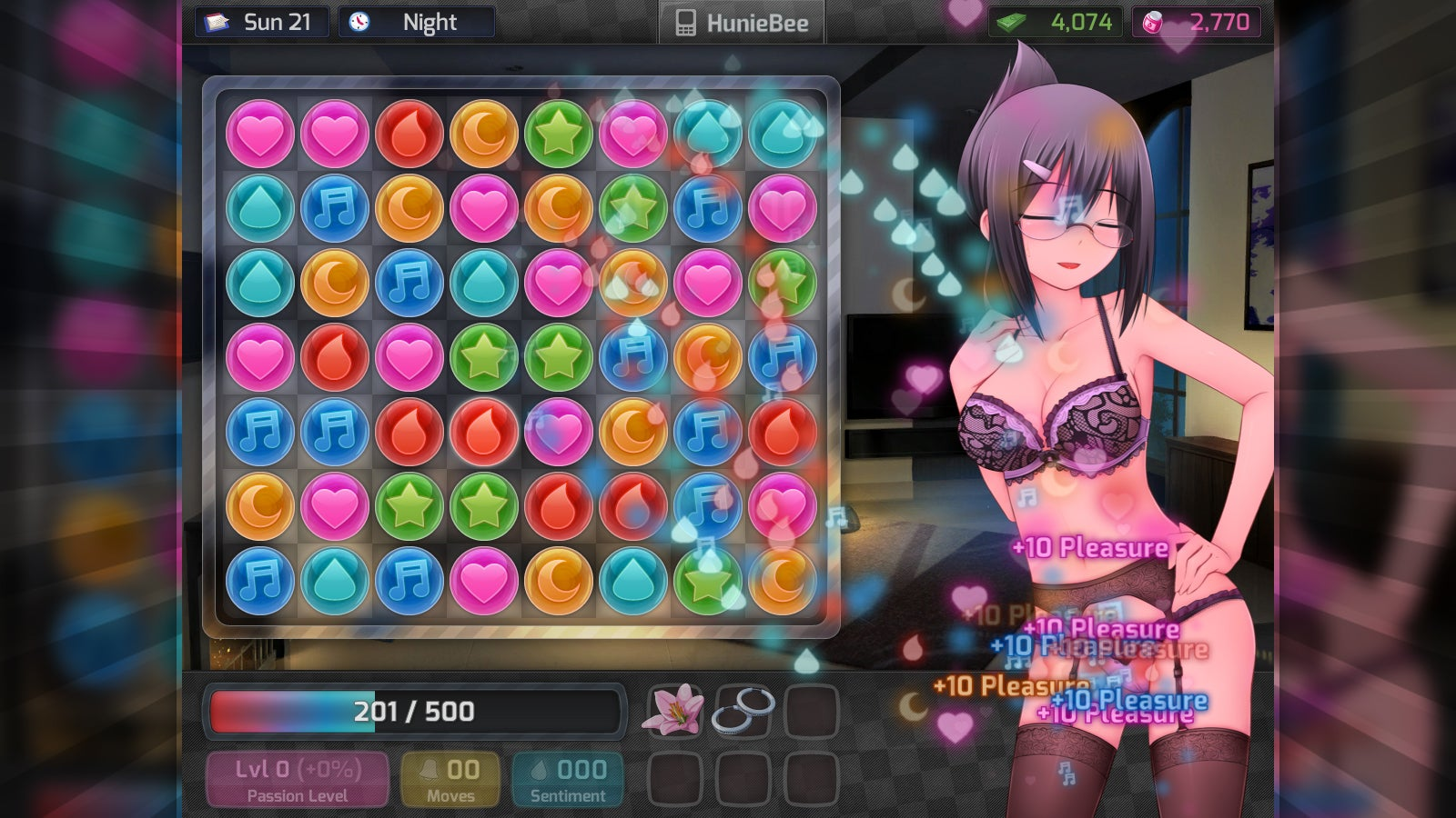 Consenting adult game