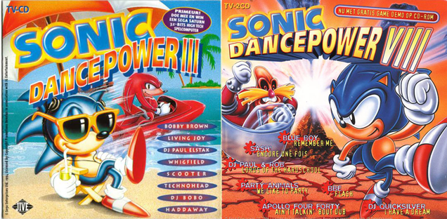 '90s Sonic The Hedgehog CDs Were Pretty Sexual