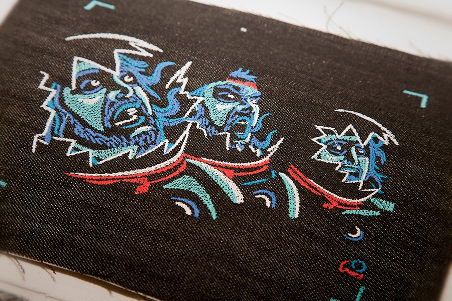 Every frame in this stop-motion music video is embroidered