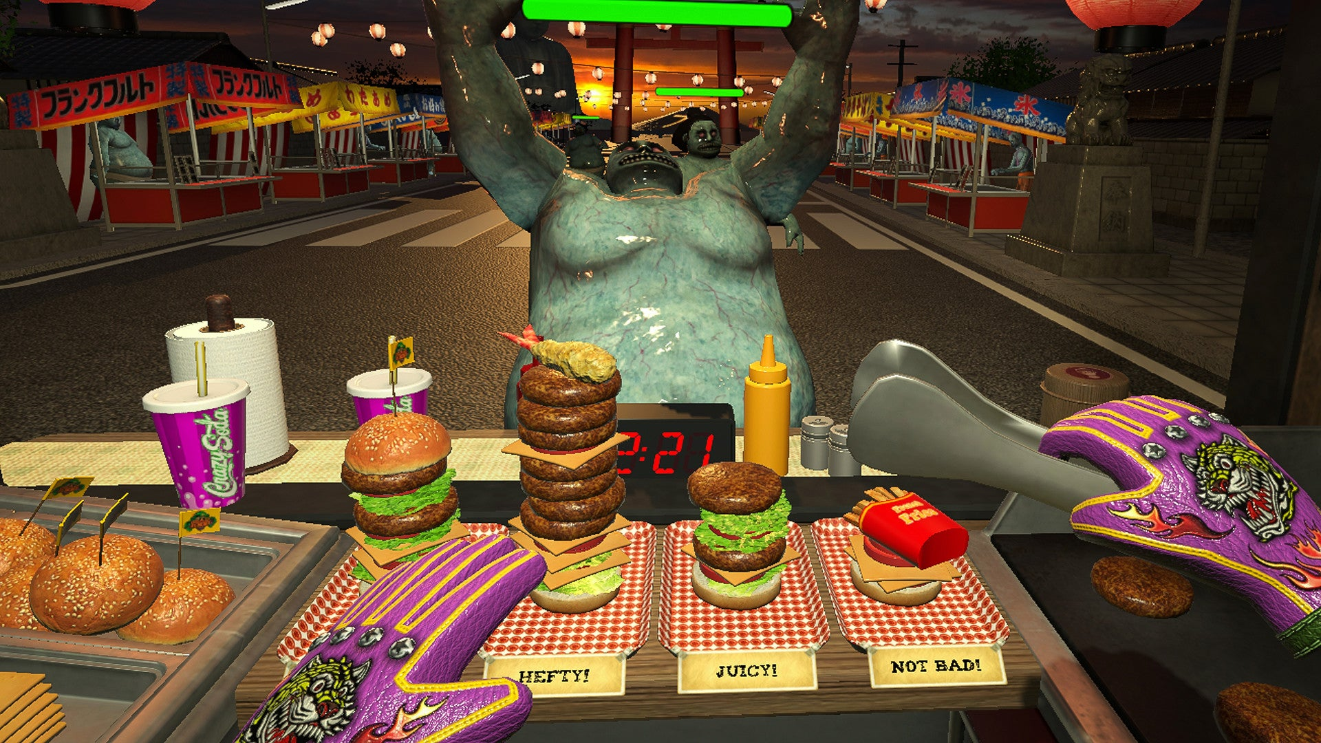 Burgers Will Save Your Life In Zombie Game Dead Hungry