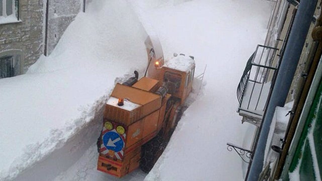 What It Looks Like To Receive A World-Record Snow Dump
