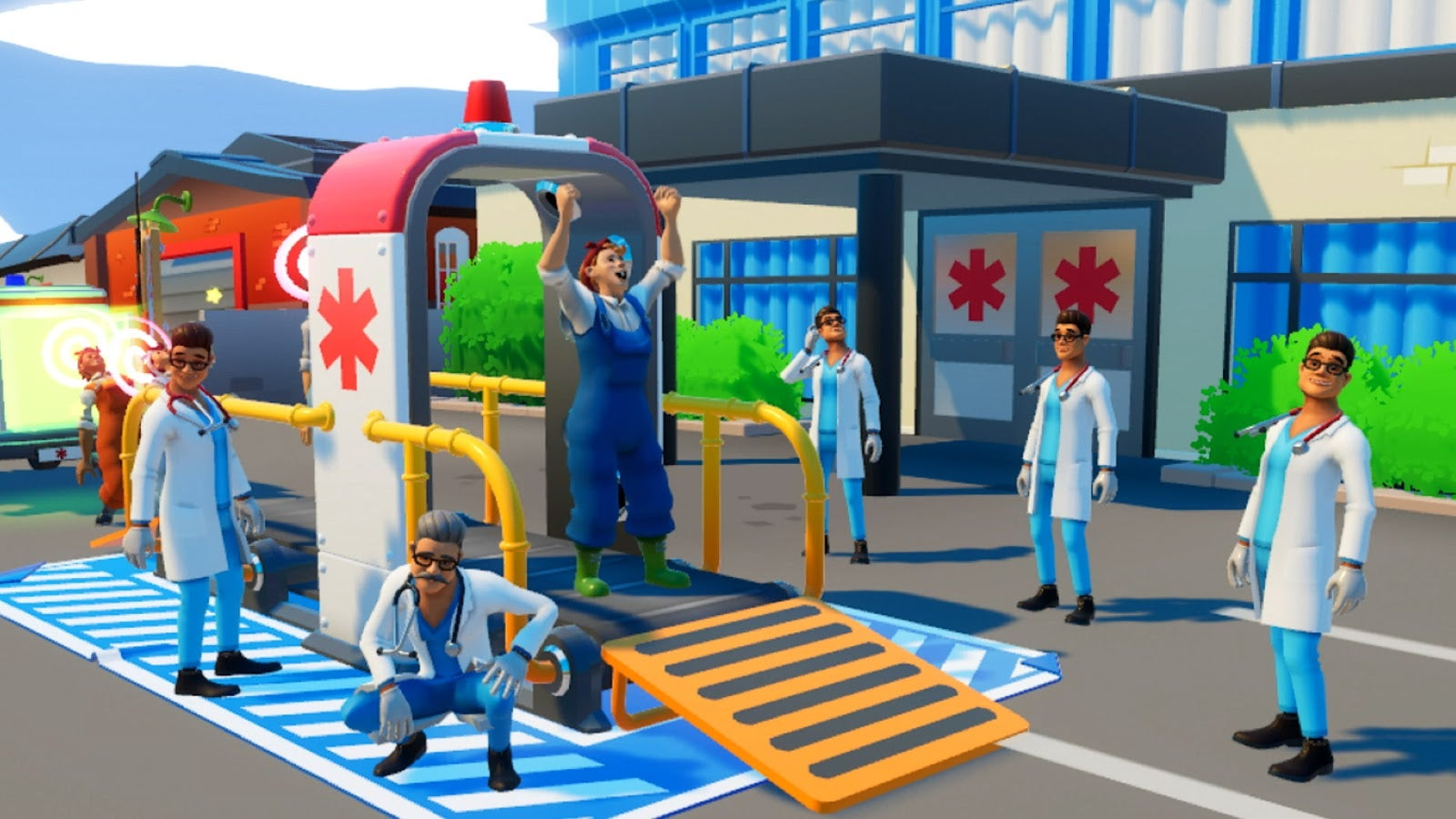 Nintendo Just Released A Wacky Ambulance Game In Europe And Japan