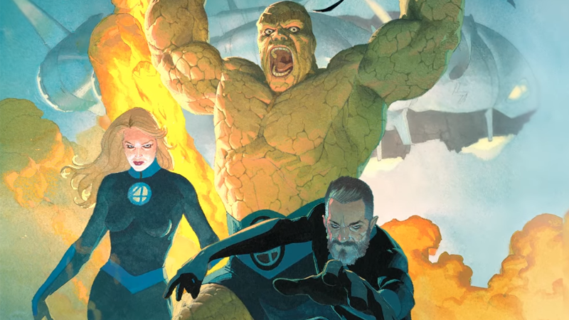 The Fantastic Four's New Costumes Are Looking Sharp