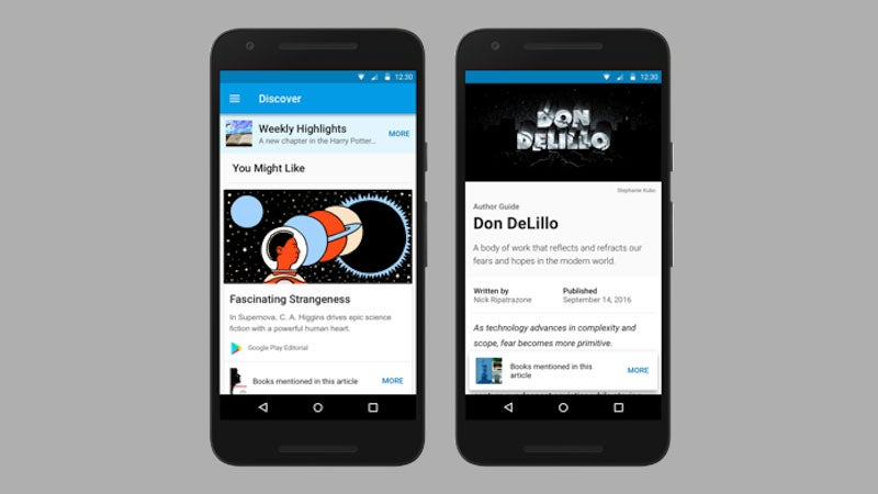 Google Play Books Now Analyses Your Reading Habits And Recommends New Books