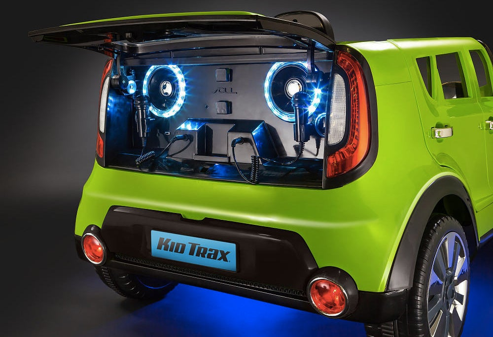 This Tiny Kia Soul For Kids Has a Better Sound System Than Your Car