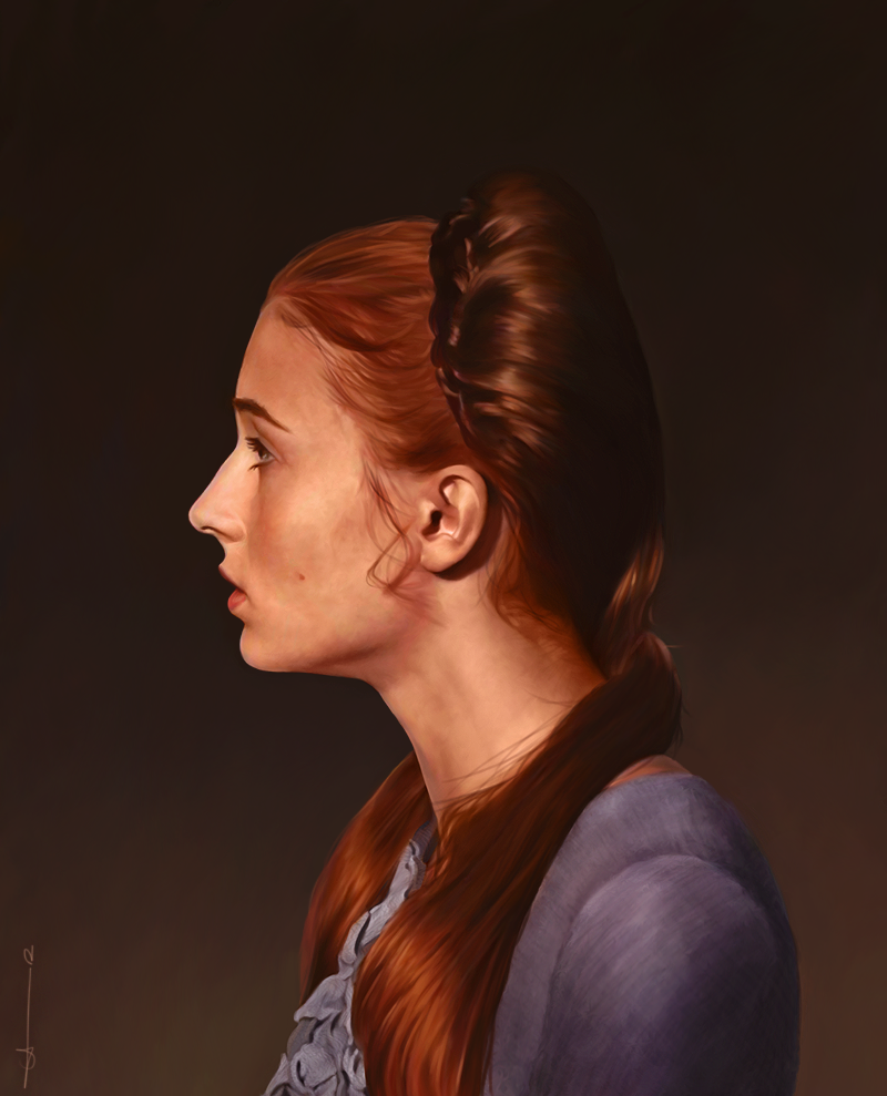 Beautiful Portraits Of Nerd Stars Look Too Good To Be Paintings