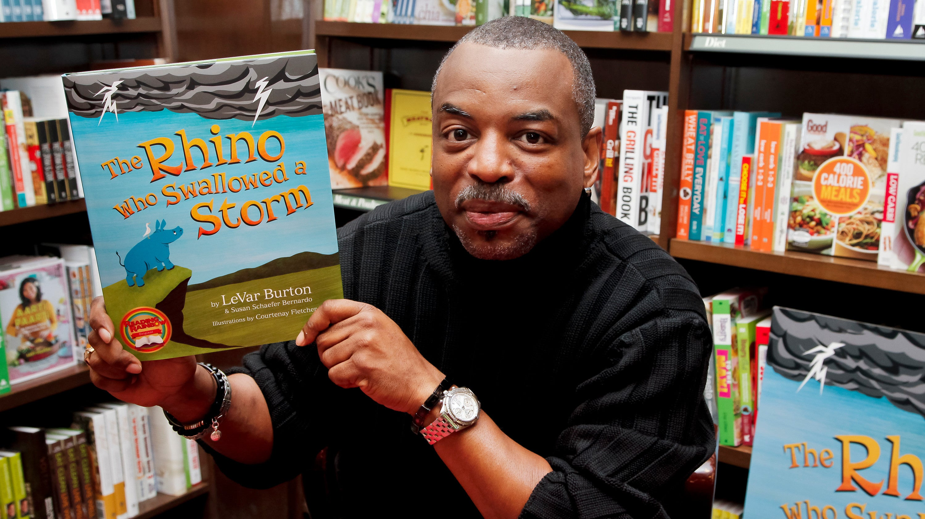 LeVar Burton Will Read To Us, Thank God