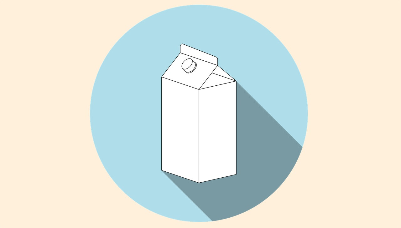Use A Simple Milk Carton For Dripless Pouring