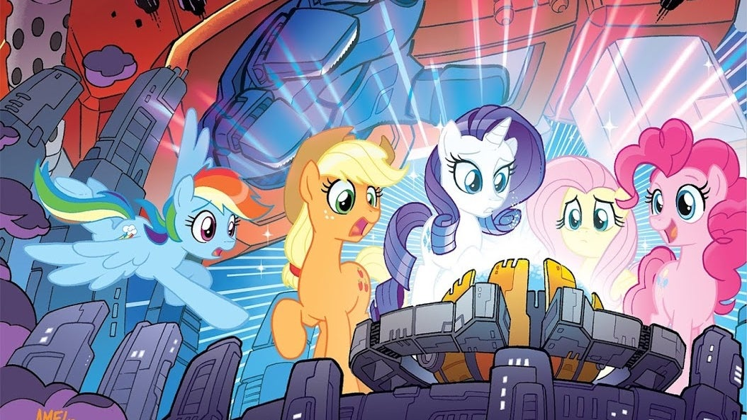 Fandoms Collide As The Transformers Finally Team Up With Some Little Ponies