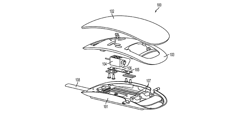 Apple Patented a Mouse that Would Vibrate at Your Touch
