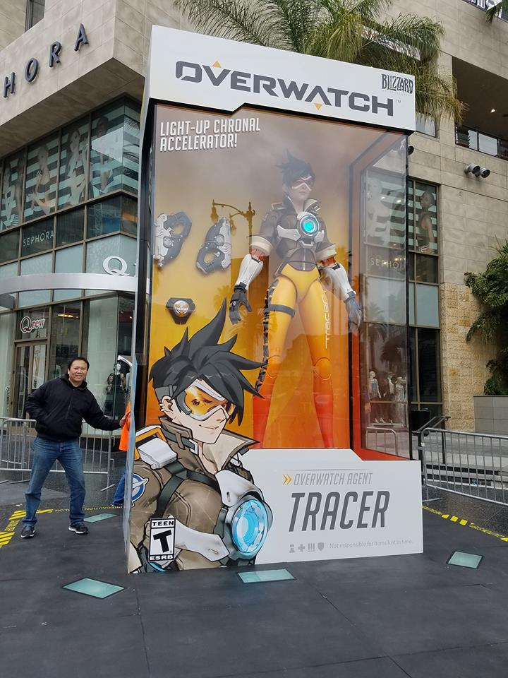 GIANT Overwatch Action Figures Are Neat
