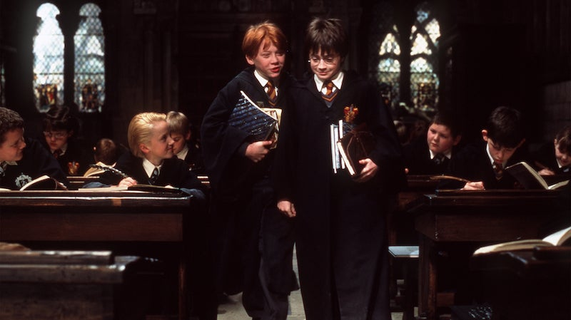 A Harry Potter Theory That Both Explains Harry's Tiny Class And Will Ruin Your Day