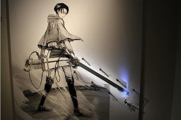 First Look Inside the Attack on Titan Exhibit