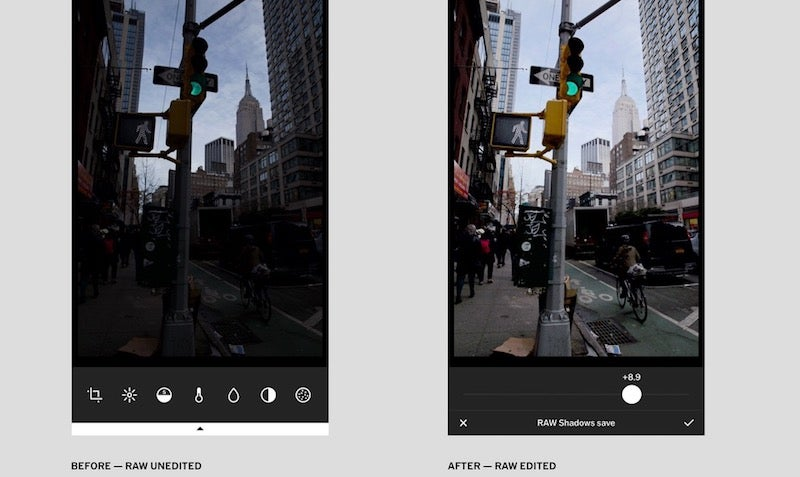 VSCO For iPhone Now Supports RAW Shooting, Editing, And Importing