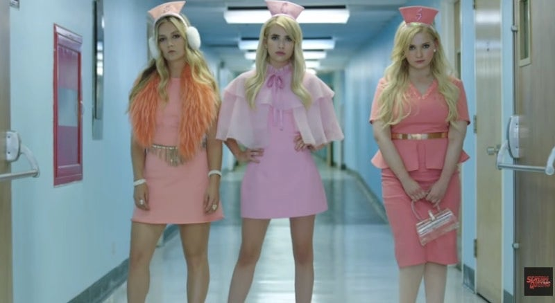 The Chanels Are Back And Bitchy As Ever In This New Scream Queens Promo