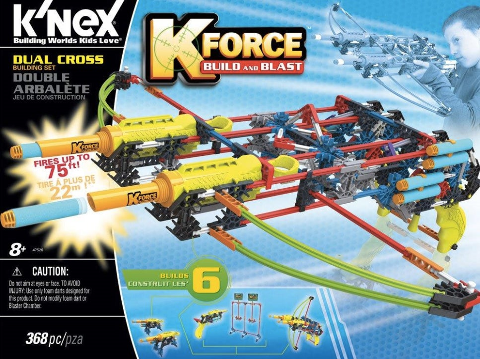 K'NEX's New Build-a-Blaster K-FORCE Line Is Finally Fully Revealed