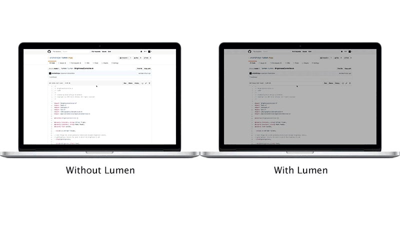 Lumen Automatically Adjusts Your Mac's Brightness Based On Screen Contents