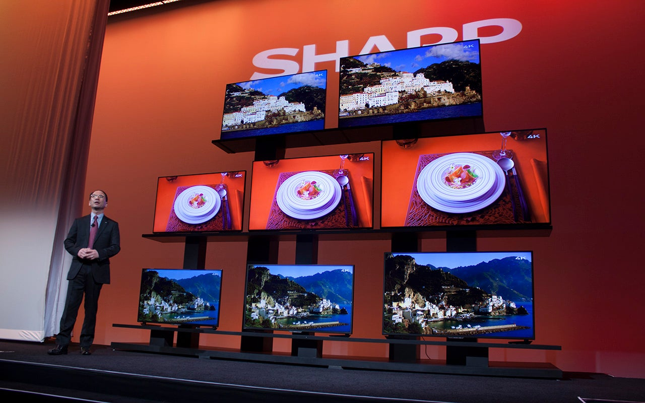 Sharp's 80-Inch Beyond 4K Ultra HD TV Is Overstuffed With Pixels