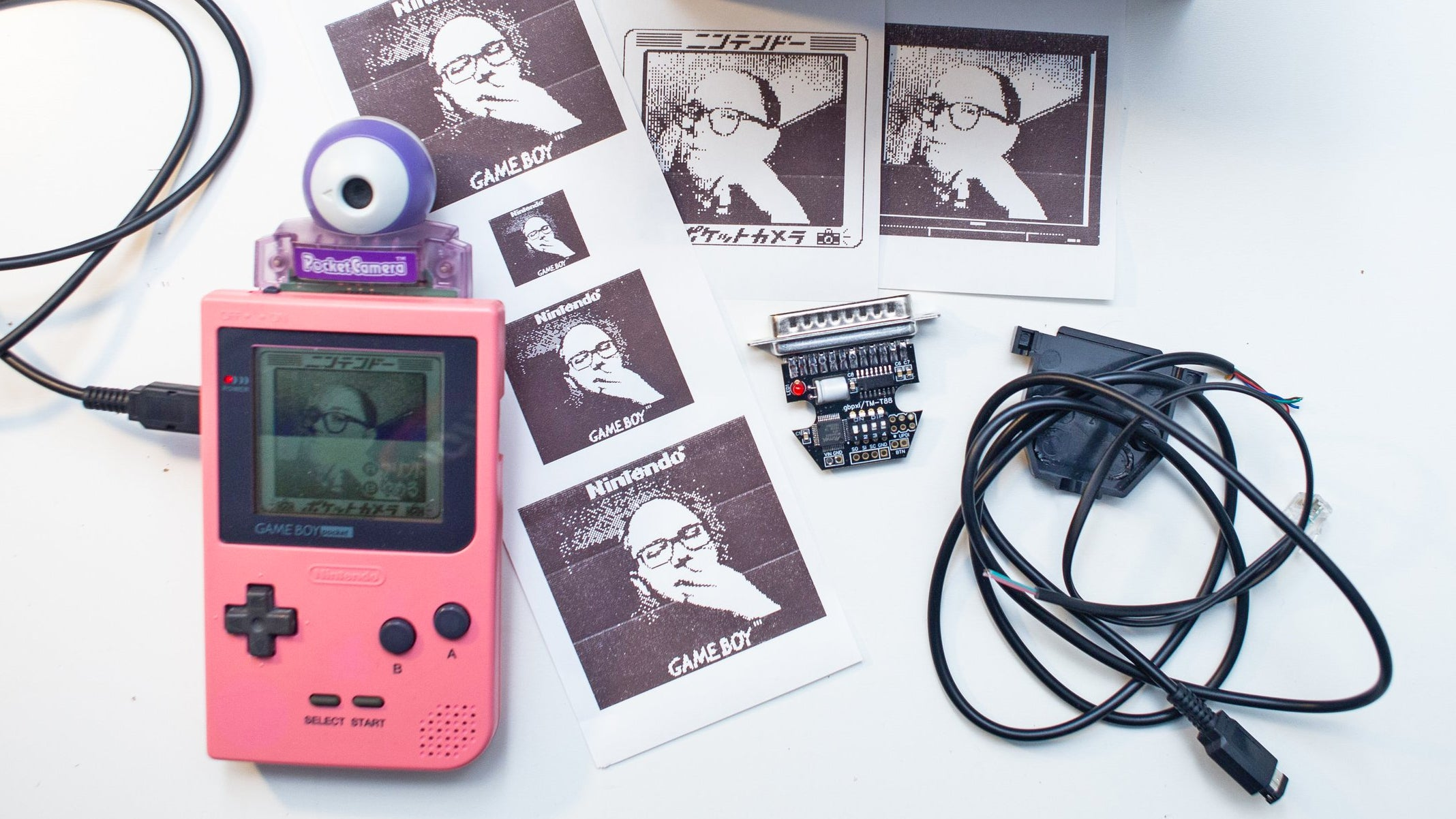 You Can Connect Your Game Boy Camera To Modern Printers Using This $30 Adaptor