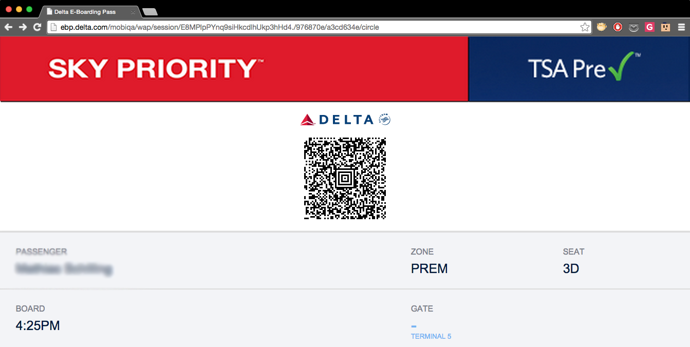Hacker: A URL Trick Lets You Use Someone Else's Delta Boarding Pass