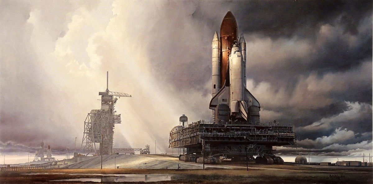 The Hungarian-Born Painter Who Immortalised America's Space Program