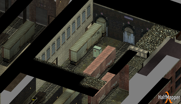 Classic Counter-Strike Maps In Isometric View