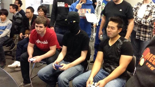 Mysterious Masked Player Wins Smash Bros Tournament
