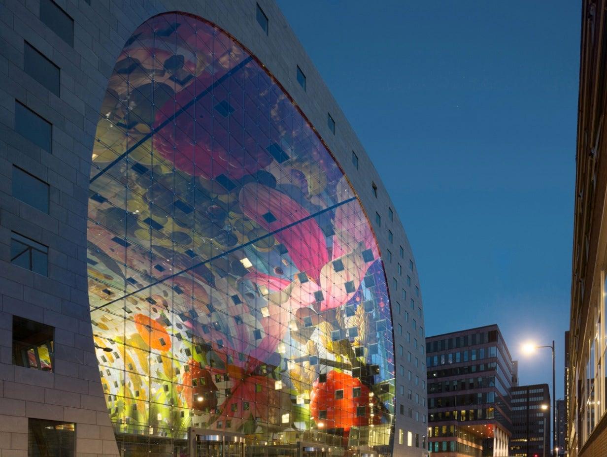 Rotterdam's New Farmers Market Looks Like the Inside of a Vitamix
