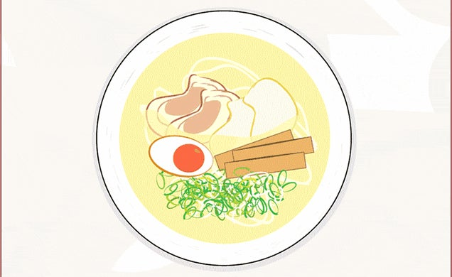 Super Fun Illustrations of 42 Different Types of Ramen