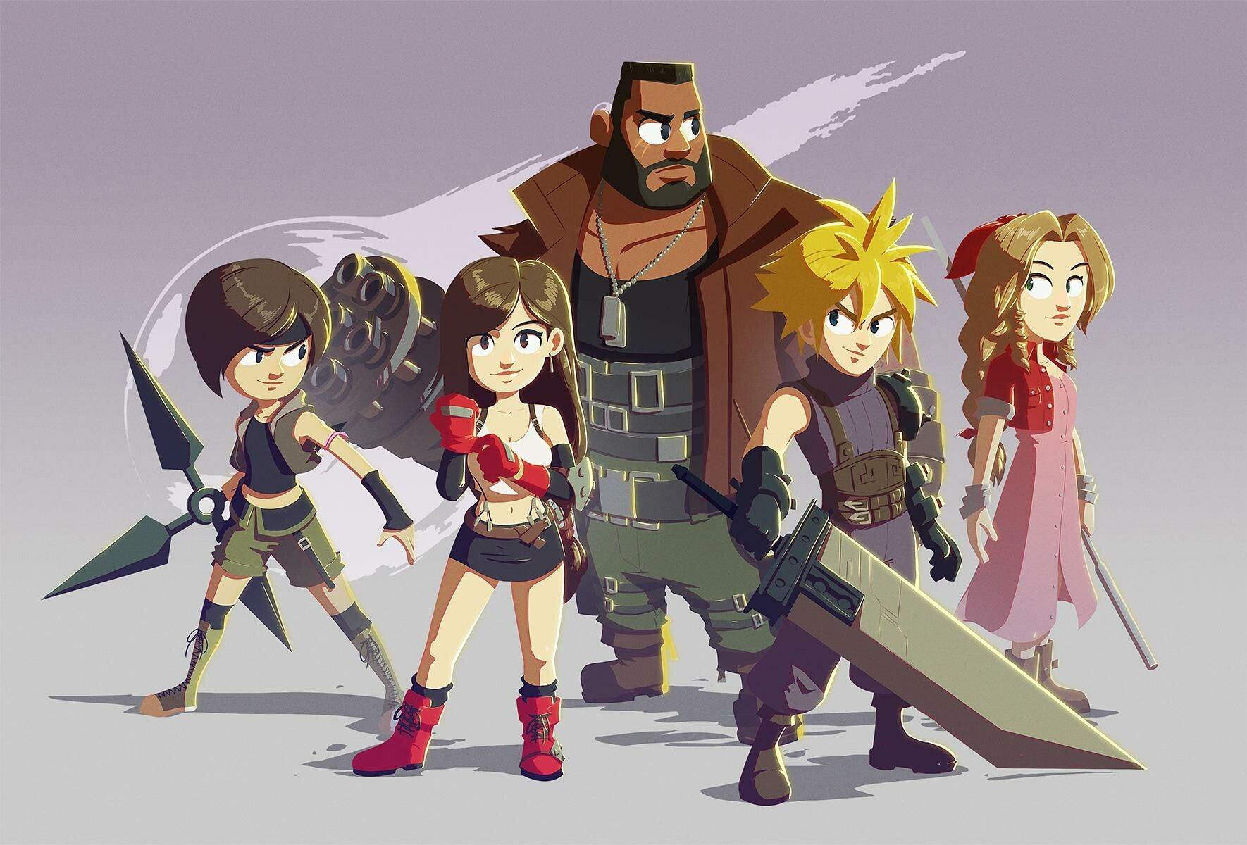 A Final Fantasy VII Bedtime Story
