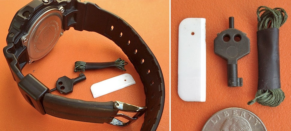 An Anti-Kidnapping Watch Band Hides the Tools You'll Need to Escape