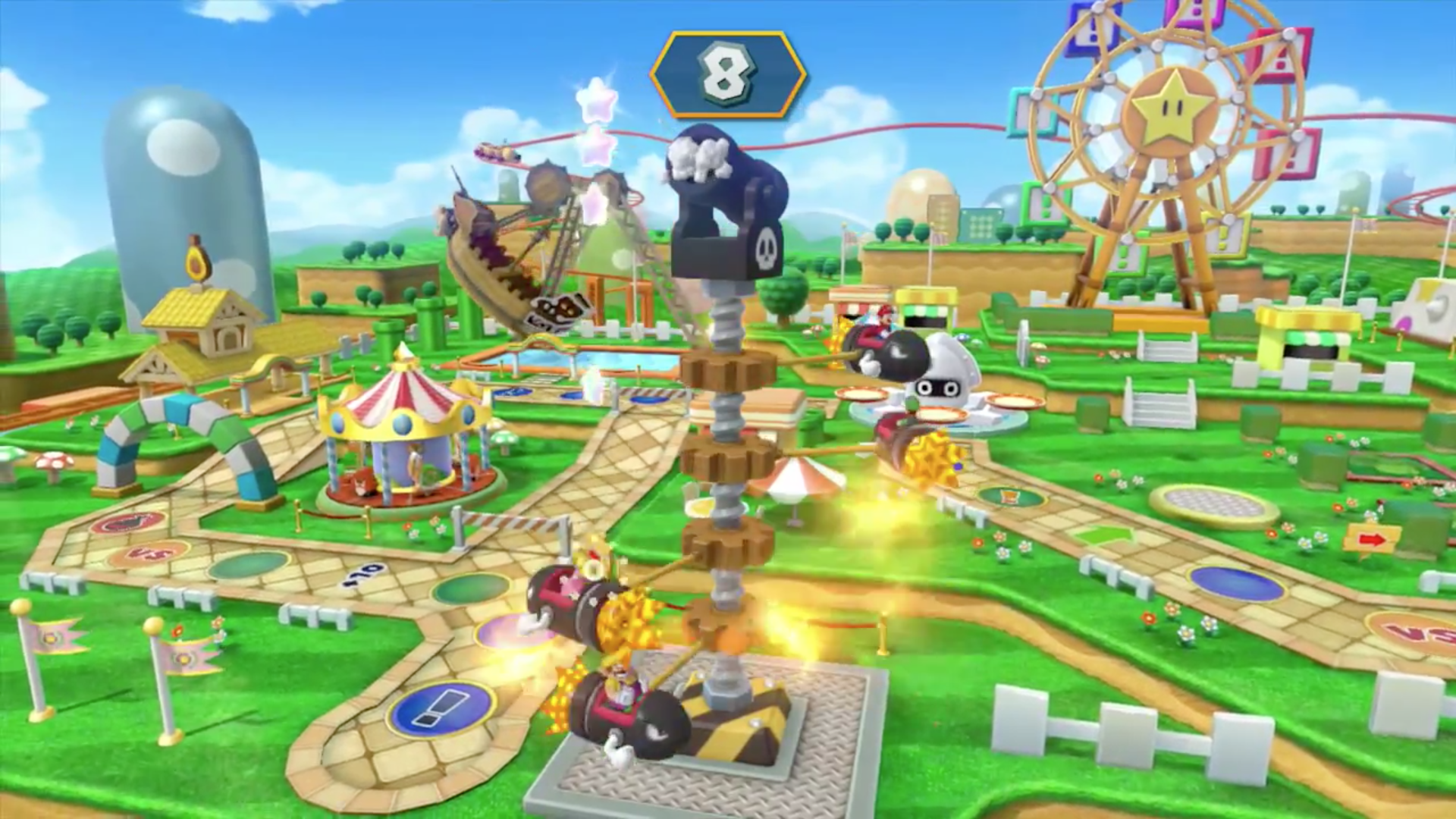 Mario Party 10 Announced For The Wii U