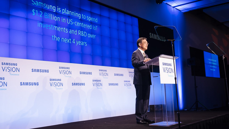 Samsung CEO Announces Surprise Resignation Amid Profits, Growth