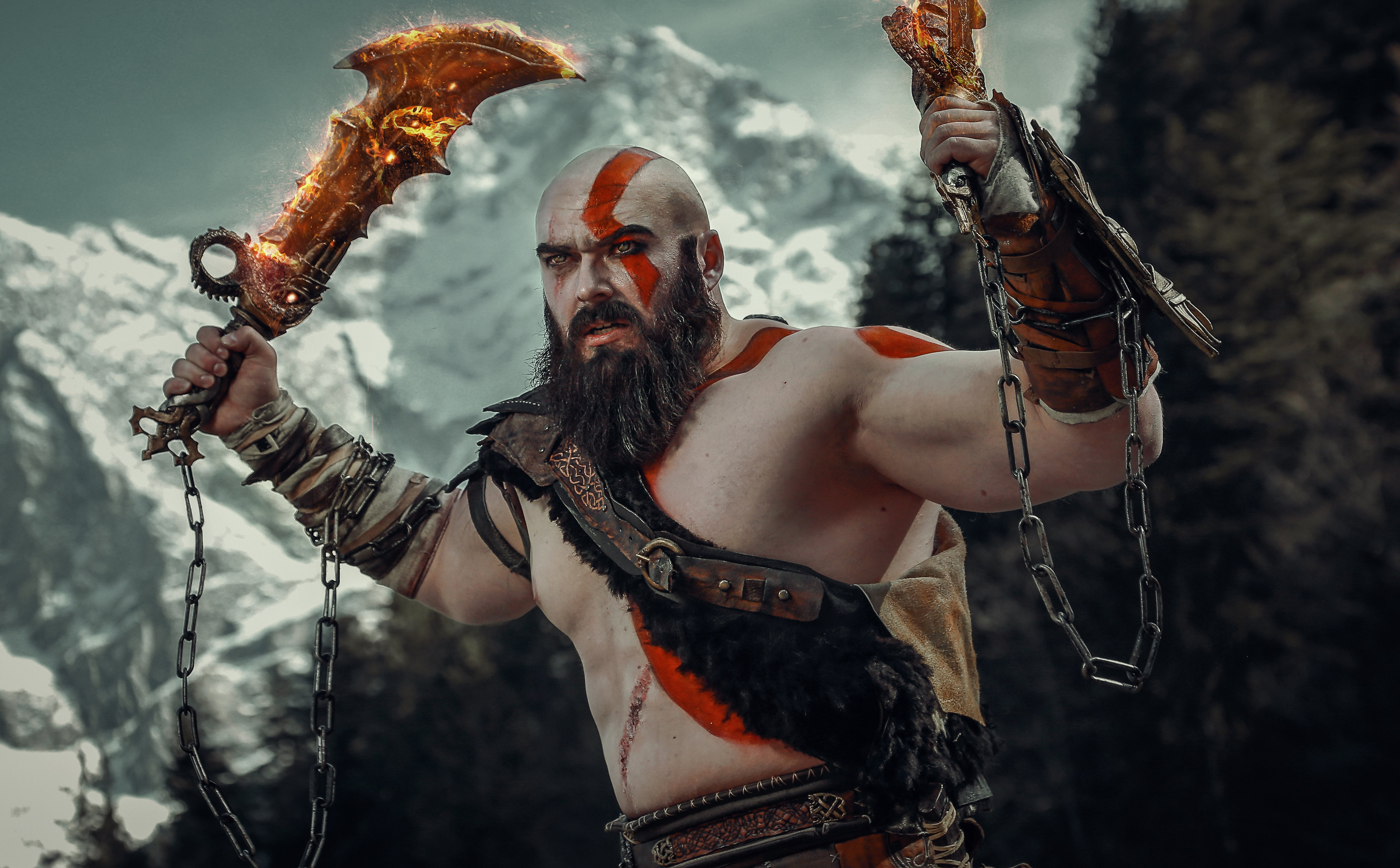 Oh Man Look At This Enormous God Of War Cosplay