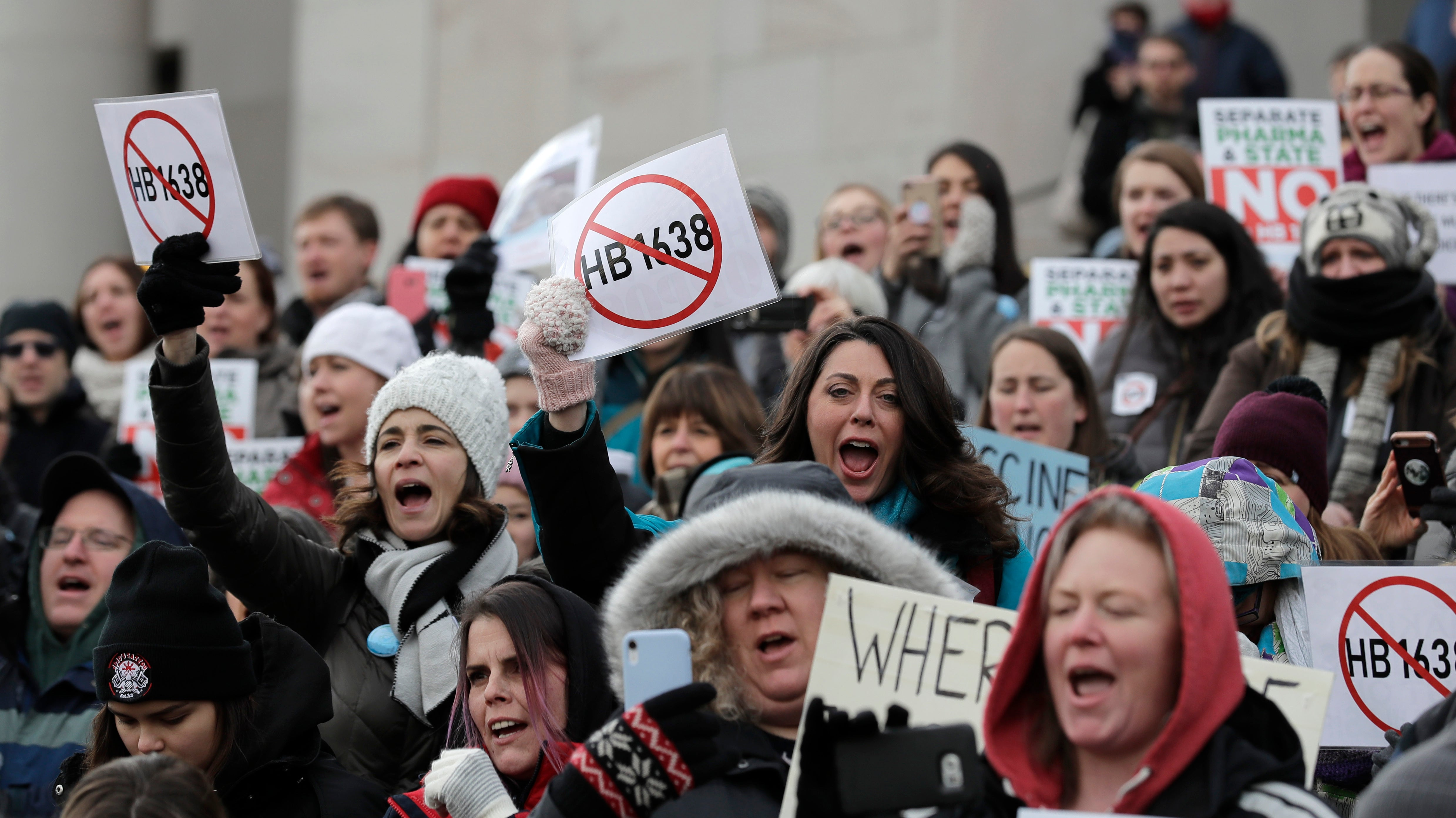 Anti-Vaccination Rally In U.S. Amid A Major Measles Outbreak Is A Little Too On The Nose