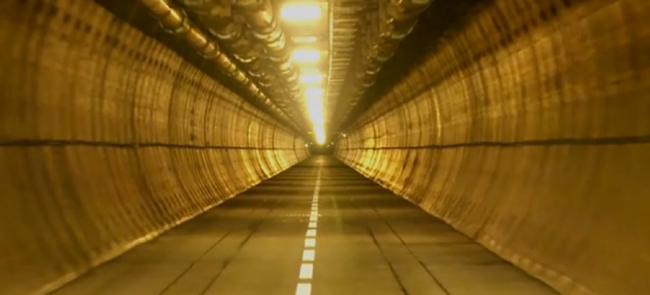 Inside the Hidden Escape Tunnel for the World's Longest Under-Sea Tube
