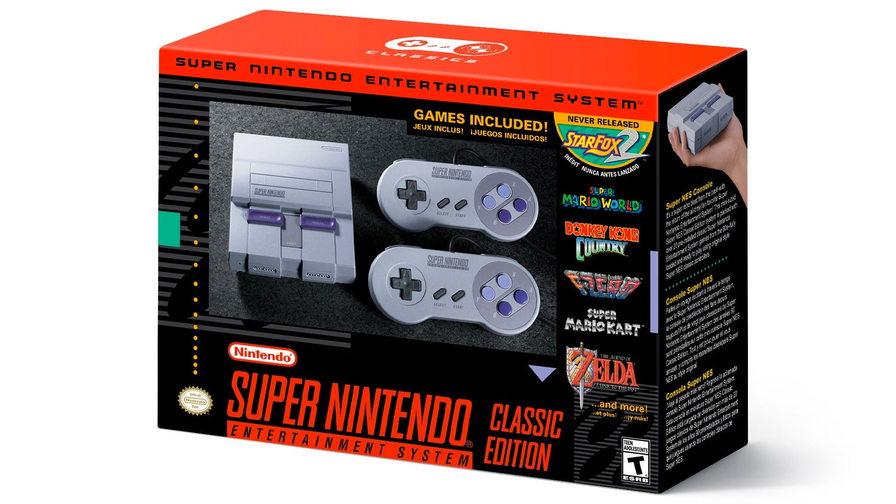 Nintendo Officially Following Up NES Classic With Mini SNES This Fall