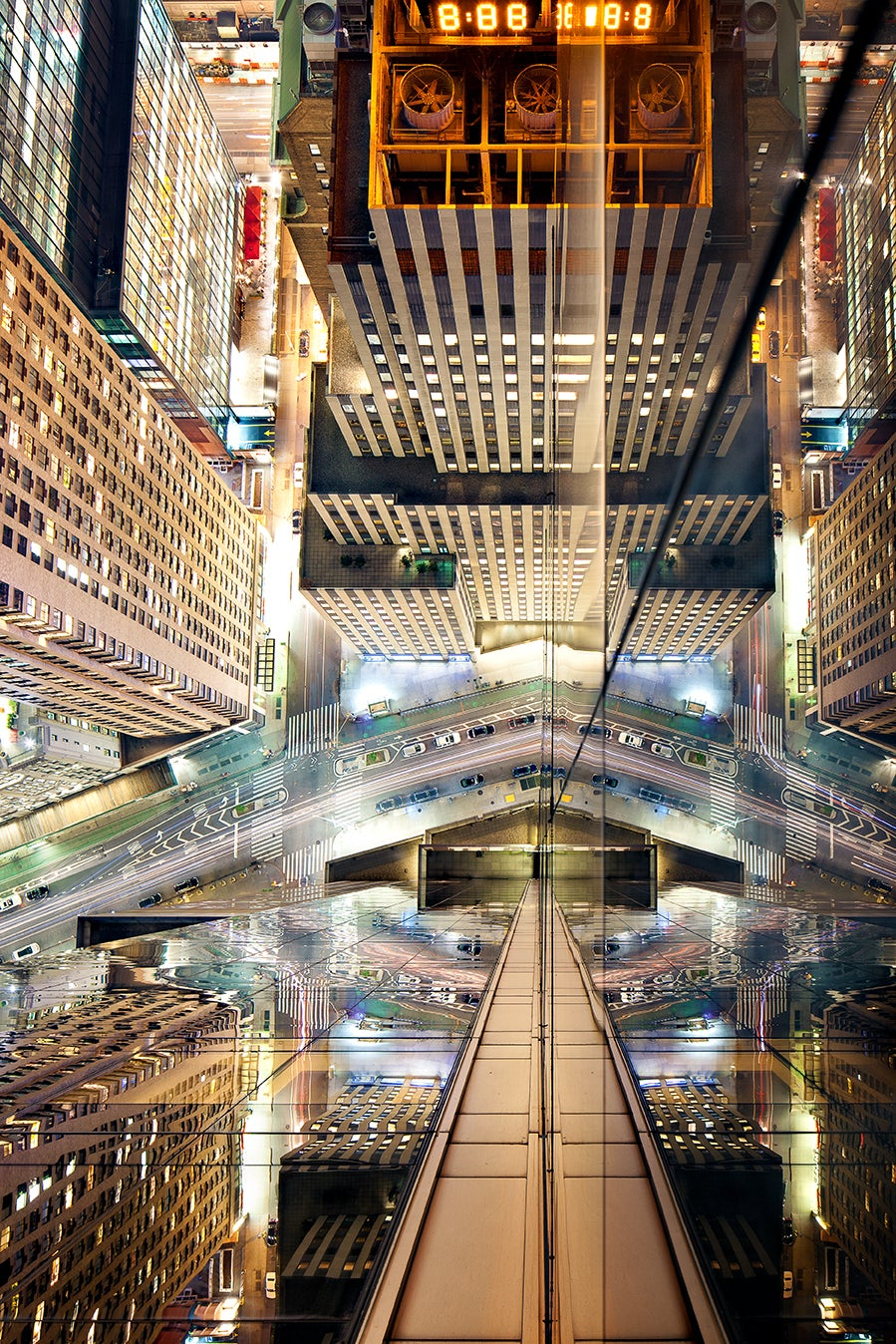 Stunning photos of windows transform New York City into a starship
