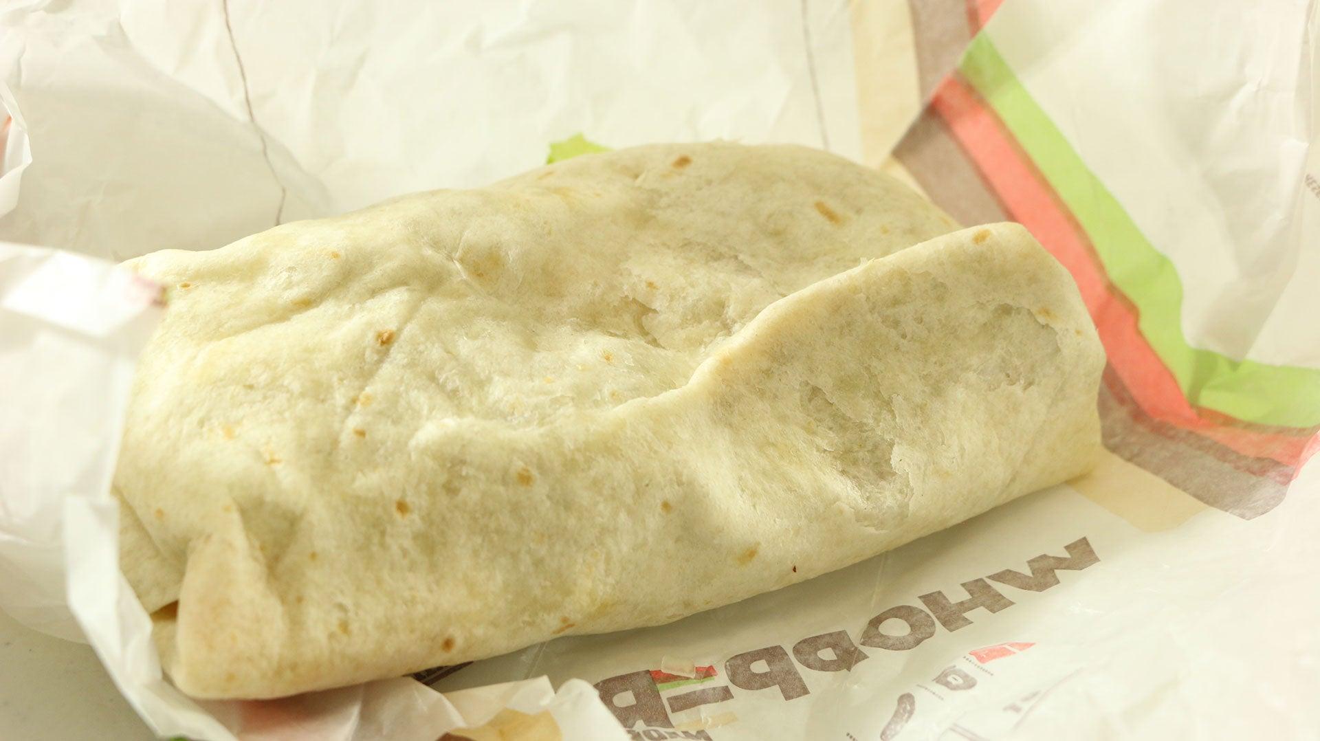 Snacktaku Unwraps Burger King's Whopperrito