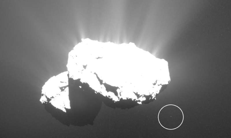 Astrophotographer Discovers A Tiny 'Churymoon' Around Famous Comet