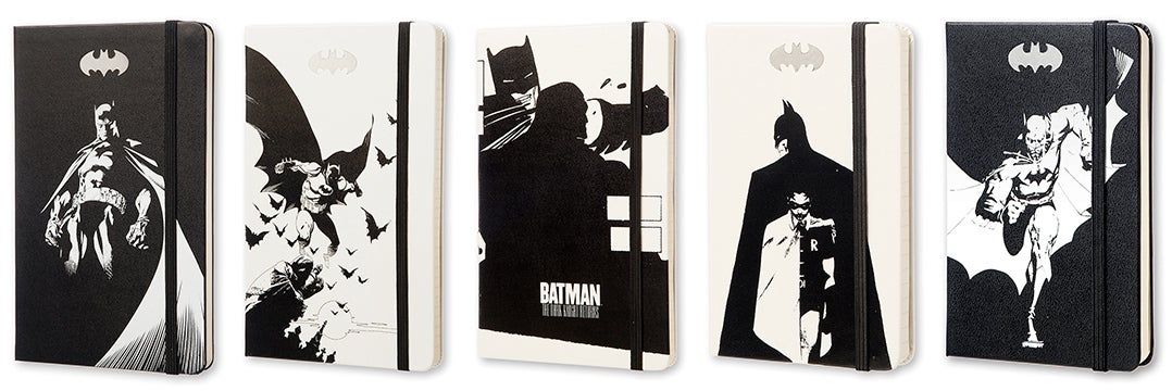 Moleskine Has Finally Put Batman On the Cover of Five New Notebooks