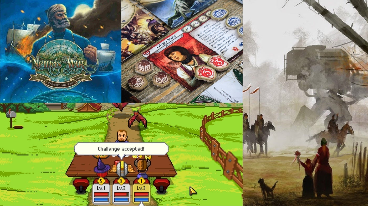 12 Board Games And Tabletop RPGs You Can Play Alone While Social Distancing