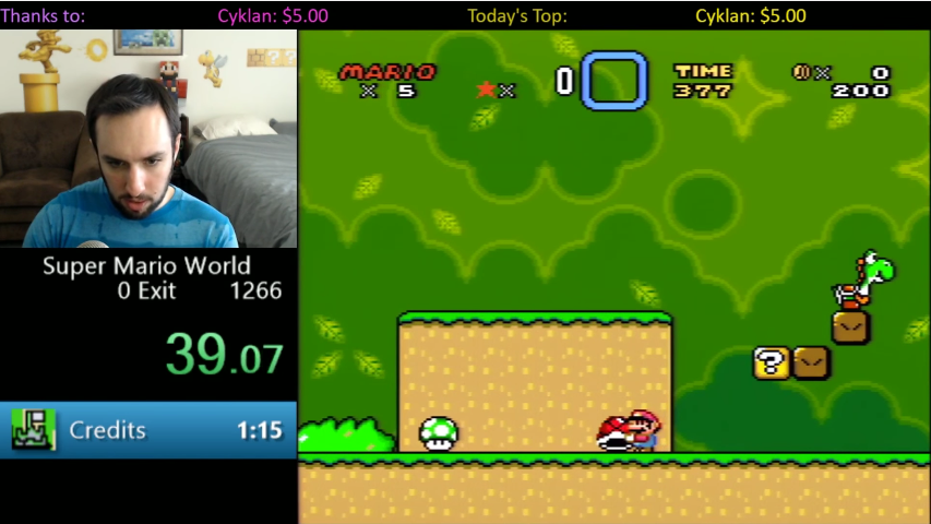 People Can Now Beat Super Mario World In Less Than A Minute