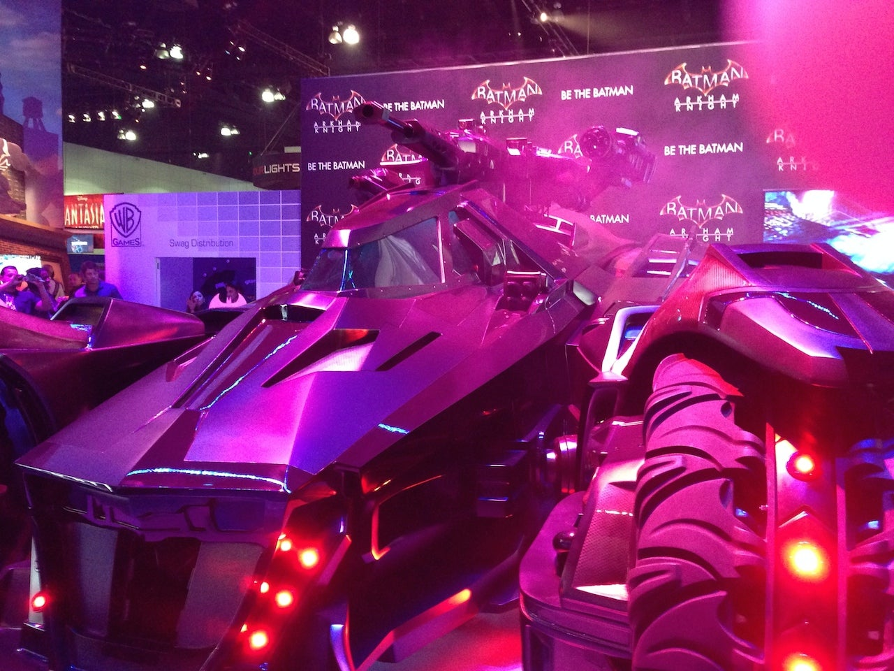 They Brought A Batmobile To E3