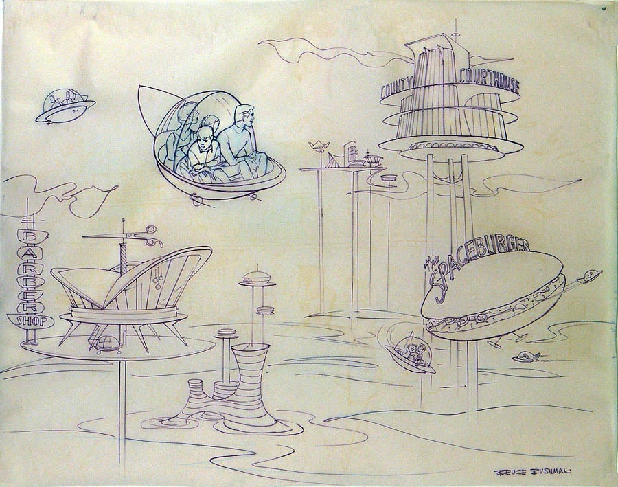 The Jetsons Amusement Park Ride That Never Was