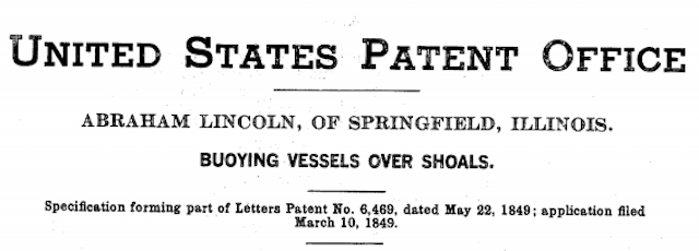 Abe Lincoln Holds the Only (and Weirdest) Presidential Patent