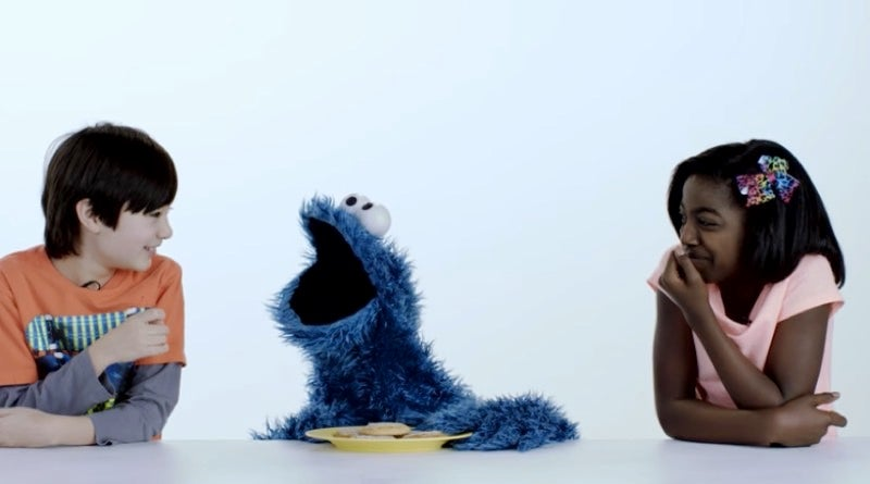 Cookie Monster Is The Ultimate Snack Buddy In This Video Celebrating 100 Years Of Cookies