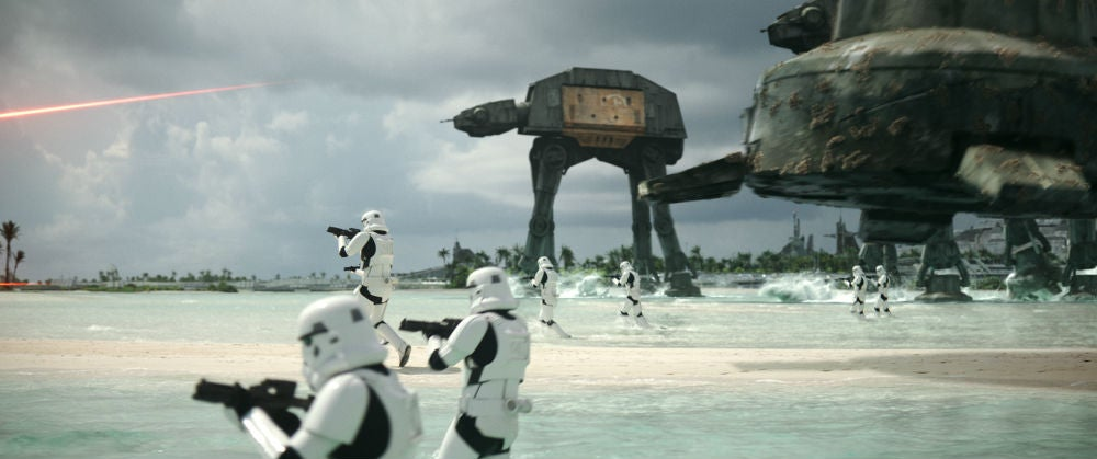 Watch ILM Completely Digitally Create The Planets Of Rogue One